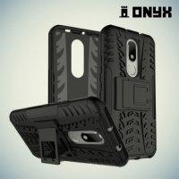 Противоударный защитный чехол для Moto M - Черный