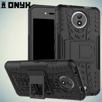 Противоударный защитный чехол для Motorola Moto C - Черный