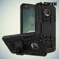 Противоударный защитный чехол для Motorola Moto Z Play - Черный