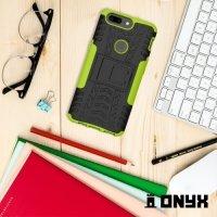 Противоударный защитный чехол для OnePlus 5T - Зеленый