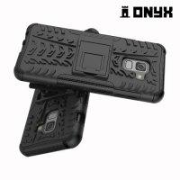 Противоударный защитный чехол для Samsung Galaxy A5 2018 SM-A530F - Черный