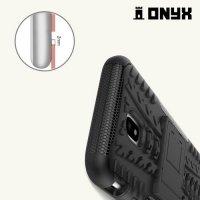 Противоударный защитный чехол для Samsung Galaxy J3 2017 SM-J330F - Черный