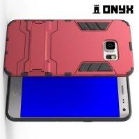 Противоударный защитный чехол для Samsung Galaxy S6 Edge Plus - Красный