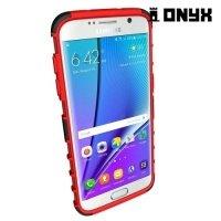 Противоударный защитный чехол для Samsung Galaxy S7 Edge - Красный