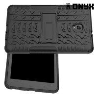 Противоударный защитный чехол для Samsung Galaxy Tab A 8.0 (2017) SM-T380 SM-T385 - Черный