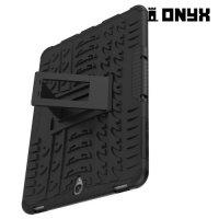Противоударный защитный чехол для Samsung Galaxy Tab S3 9.7 SM-T825 - Черный