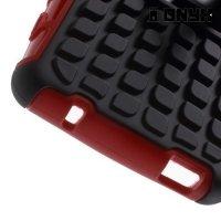 Противоударный защитный чехол для Sony Xperia Z3 Compact D5803 - Красный