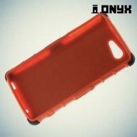 Противоударный защитный чехол для Sony Xperia Z3 Compact D5803 - Оранжевый