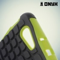 Противоударный защитный чехол для Sony Xperia Z3 Compact D5803 - Зеленый