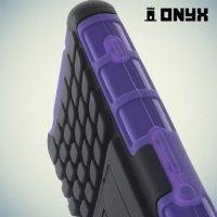Противоударный защитный чехол для Sony Xperia Z3 Compact D5803 - Фиолетовый