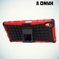 Противоударный защитный чехол для Sony Xperia Z5 Premium - Красный