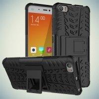 Противоударный защитный чехол для Xiaomi Mi 5 - Черный