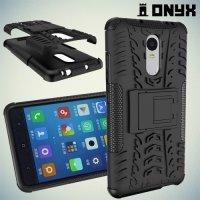 Противоударный защитный чехол для Xiaomi Redmi Note 4 / Note 4X - Черный