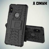 Противоударный защитный чехол для Xiaomi Redmi Note 5 / 5 Pro - Черный