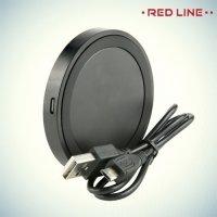 Red Line Qi Беспроводная зарядка черная