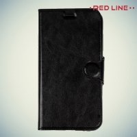 Red Line чехол книжка для Asus Zenfone 3 ZE552KL - Черный