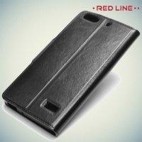 Red Line чехол книжка для Huawei Honor 4C - Черный
