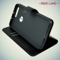 Red Line чехол книжка для Huawei Honor 8 - Черный