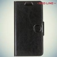 Red Line чехол книжка для Lenovo Vibe C2 (K10A40)  - Черный