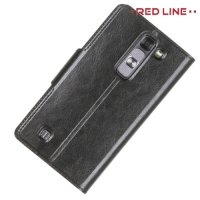 Red Line чехол книжка для LG G4c H522y - Черный