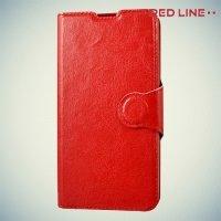 Red Line чехол книжка для Microsoft Lumia 550 - Красный