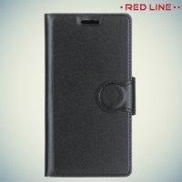 Red Line чехол книжка для Nokia 3 - Черный