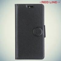 Red Line чехол книжка для Nokia 5 - Черный