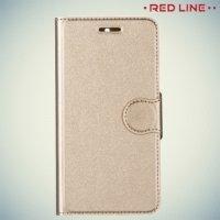 Red Line чехол книжка для Nokia 5 - Золотой