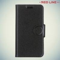 Red Line чехол книжка для Xiaomi Redmi 4X - Черный