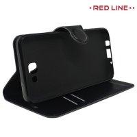Red Line Flip Book чехол для Samsung Galaxy J5 Prime - Черный