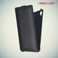 Red Line флип чехол для Sony Xperia Z3+ - Черный