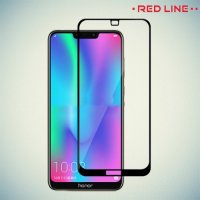 Red Line Full Glue 3D стекло для Huawei Honor 8C с полным клеевым слоем - Черная рамка