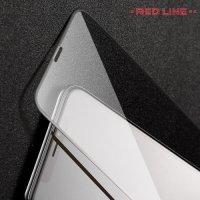 Red Line Full Glue стекло для iPhone XR с полным клеевым слоем - Черная рамка