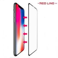 Red Line Full Glue стекло для iPhone XS Max с полным клеевым слоем - Черная рамка