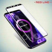 Red Line Full Glue 3D стекло для Samsung Galaxy S9 Plus с полным клеевым слоем - Черная рамка