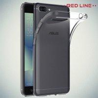 Red Line прозрачный силиконовый чехол для ASUS ZenFone 4 Max ZC554KL