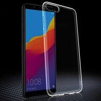 Red Line прозрачный силиконовый чехол для Huawei Honor 7A / Y5 Prime 2018