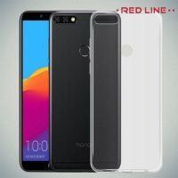 Red Line прозрачный силиконовый чехол для Huawei Y9 2018