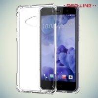 Red Line силиконовый чехол для HTC U Play - Прозрачный