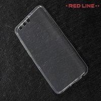 Red Line силиконовый чехол для Huawei Honor 9 - Прозрачный