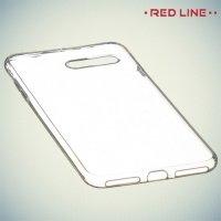 Red Line силиконовый чехол для iPhone 7 Plus - Прозрачный