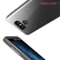 Red Line силиконовый чехол для LG G6 H870DS - Прозрачный