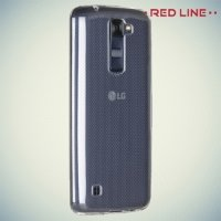 Red Line силиконовый чехол для LG K8 K350E - Прозрачный