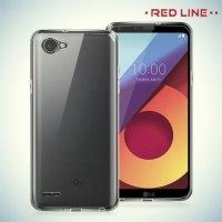 Red Line силиконовый чехол для LG Q6 M700AN / Q6a M700 - Прозрачный