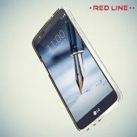 Red Line силиконовый чехол для LG Stylus 3 M400DY - Прозрачный