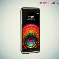 Red Line силиконовый чехол для LG X Power K220DS - Черный полупрозрачный