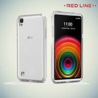 Red Line силиконовый чехол для LG X Power K220DS - Прозрачный