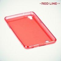 Red Line силиконовый чехол для LG X Power K220DS - Красный
