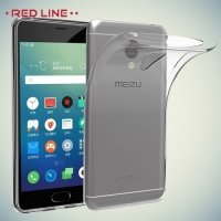 Red Line силиконовый чехол для Meizu M5 - Прозрачный