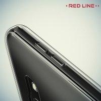 Red Line силиконовый чехол для Samsung Galaxy A3 2017 SM-A320F - Прозрачный